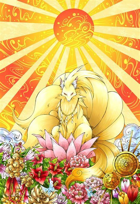 ninetales pokemon zerochan anime image board