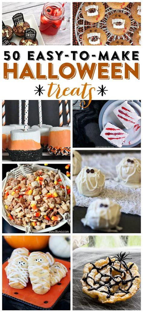 treats easy to make halloween treats 50 easy to make halloween treats
