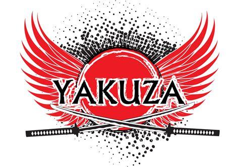 yakuza logo background vector   vector art