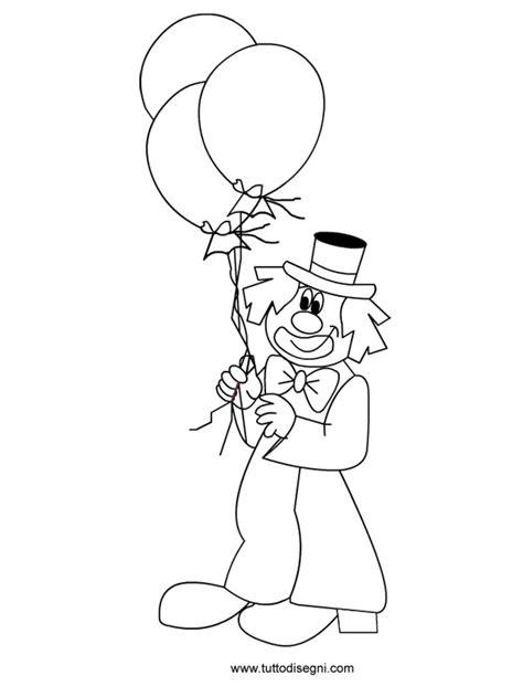 disegno stilizzato bambina con palloncino disegno pagliaccio con palloncini tuttodisegni