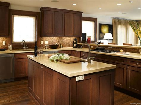 wooden cabinets for living elegant white shaker kitchen cabinets with dark wood