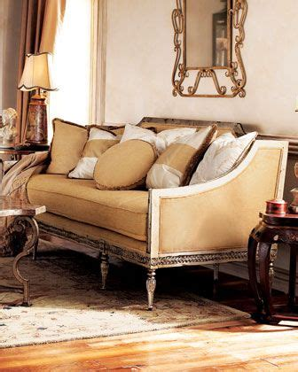 horchow settee golden settee by vanguard at horchow inspired by