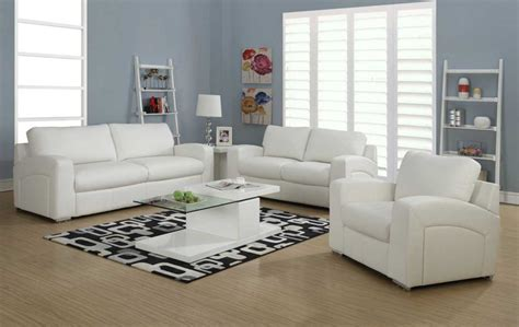 White Living Room Furniture Ideas : White Furniture Living Room With Unique Coffee Table
