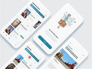 City Guide App By Kirill Ushakov On Dribbble