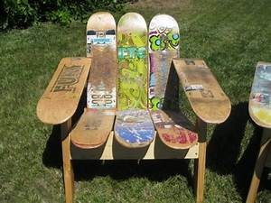 Bequeme Sessel Für Alte Menschen : skateboard upcycling 5 ideen f r alte skateboard decks ~ Bigdaddyawards.com Haus und Dekorationen
