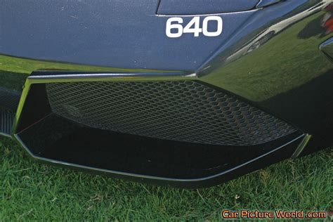 Murcielago Lp 640 Police Car Front Grill Picture