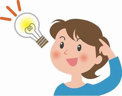 Bulb Clipart Idea Student Sense Lightbulb Thinking