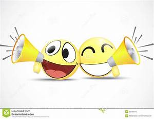 Emoticon With Speaker business Commerce Concept Royalty Free Stock Images Image: 30700019