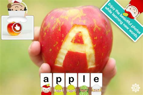 abc cuisines learn letters words and food with abc food corner