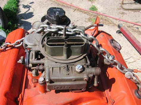 sell  chevy   engine  trw holley
