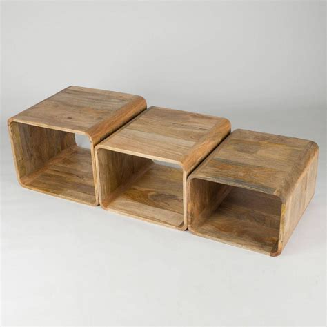 Reclaimed mango wood coffee table made from a single five inch slab. 2020 Best of Mango Wood Coffee Tables