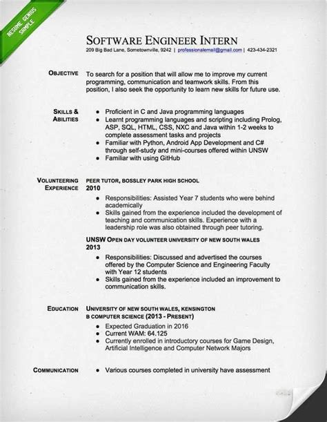 resume format for electrical engineering students site