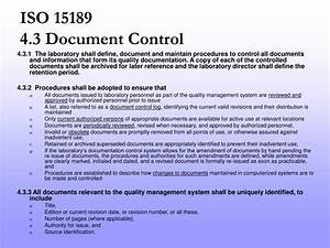 ppt document control powerpoint presentation id1187535 With documents control iso