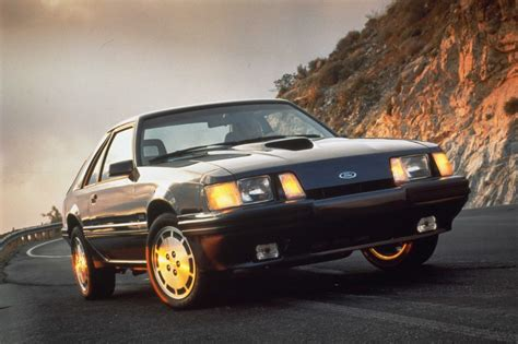 mustang svo coolest 1984