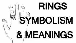 rings fingers symbolism which finger should you wear a With what does a black ring on wedding finger mean