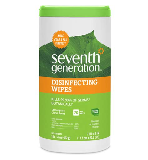 Disinfecting Wipes | Seventh Generation
