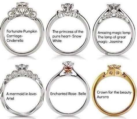 disney princess inspired rings i m a disney princess