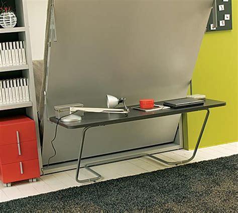 space saver desk bed ulisse bed desk space saving system freshome