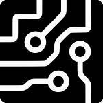 Circuit Icon Board Chip Computer Cpu Semiconductor