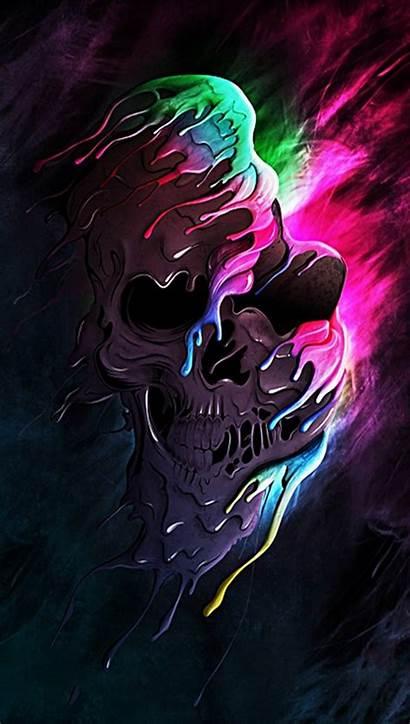 Skull Wallpapers Iphone Skulls Zedge Ios Colored