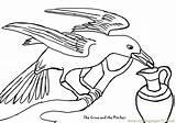 Crow Coloring Pitcher Pages Printable Crows Birds Template Bird Coloringpages101 Raven Sketch Sheet Cartoon Preschool Templates sketch template