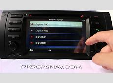 Aftermarket BMW X5 Radio Upgrade BMW X5 Navigation