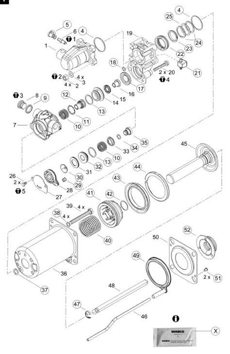 Repair Kit - Parts Wabco