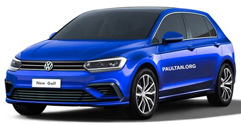 Vw Golf 2019 by 2019 Volkswagen Golf Mk8 Rendered With New Styling
