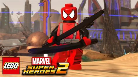 How To Create Deadpool In Lego Marvel Super Heroes 2