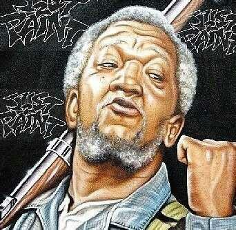 Red Foxx As Fred Sanford  African American Art