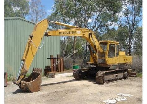 Mitsubishi Excavator by Wrecking Mitsubishi 140 Excavator Wrecking In Albury Nsw