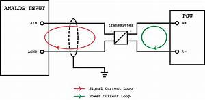 Connecting A 4-wire Transmitter To An Analog Input