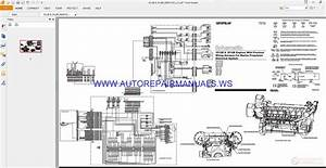 Caterpillar 3512b  U0026 3516b Engines Electrical Schematics