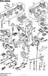 Wiring Harness For 2016 Suzuki An400