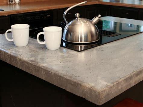 how to concrete countertops how to make a concrete countertop how tos diy