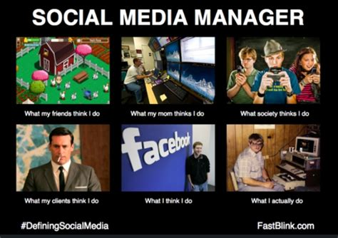 Social Media Memes - social media manager meme png
