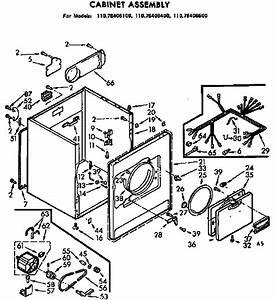 Kenmore 80 Series Electric Dryer Manual