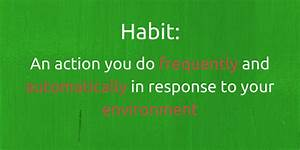 definition of a habit routine excellence