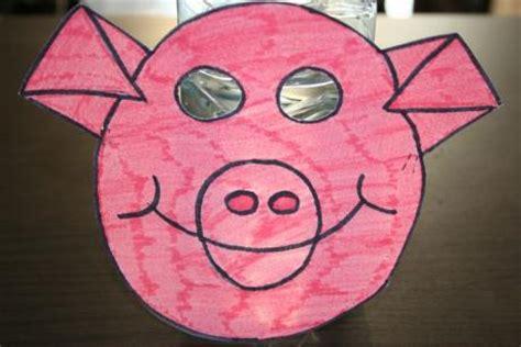 dessin recette de cuisine masque carnaval cochon activité manuelle et bricolage