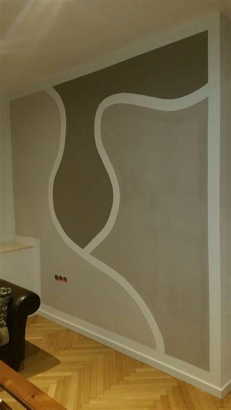 Wandgestaltung Wohnzimmer Muster by Wohnzimmer Wandgestaltung Muster Selfmade