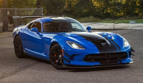 2019 dodge viper specs 2019 dodge viper acr price specs hp interior release