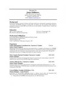 Wastewater Treatment Resume by Water Treatment Plant Operator Resume Sle Resume Template Exle