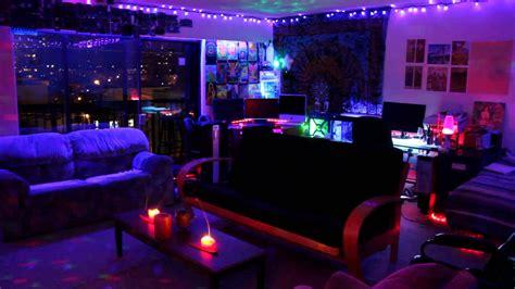 trippy led room