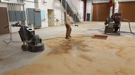 epoxy flooring repair race shop metallic epoxy floor in pittsboro nc witcraft decorative concrete coatings