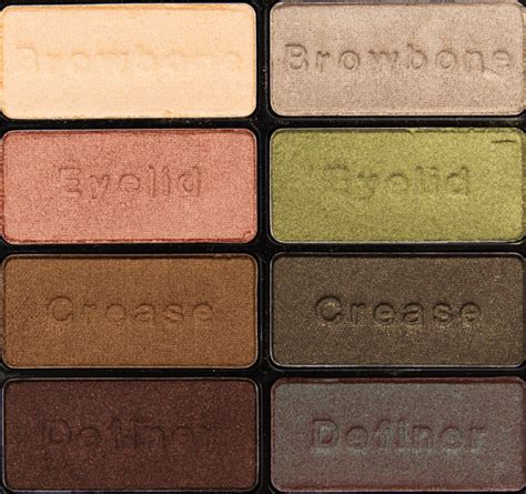 n comfort zone n comfort zone eyeshadow palette review photos