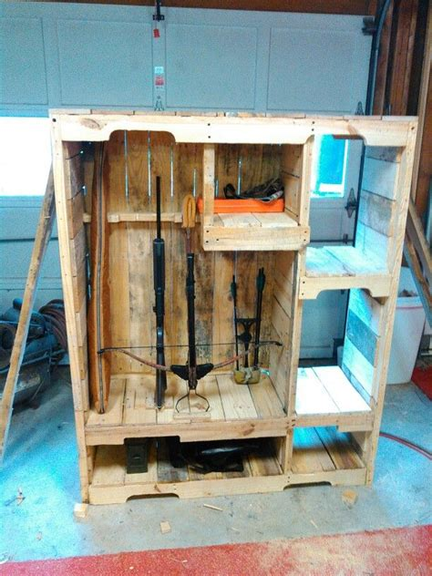 pallet wood gun cabinet plans 17 best images about gun stuff on pinterest hidden gun