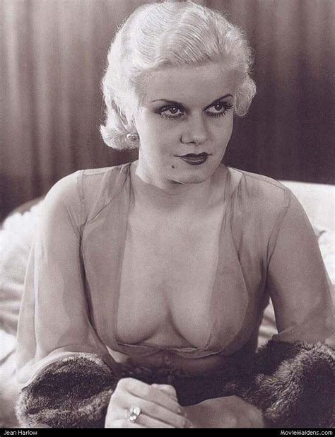 Jean Harlow Beautiful Classic Actresses Of The S