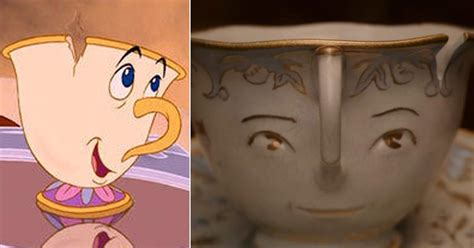 'beauty And The Beast' Characters Then And