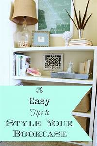 5 Easy Tips To Style Your Bookcase Adrienne Elizabeth