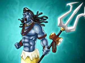 Angry Lord Shiva Smoking Chilam HD Wallpapers And Images ...